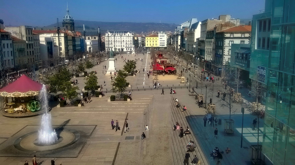 Spring in Clermont-Ferrand