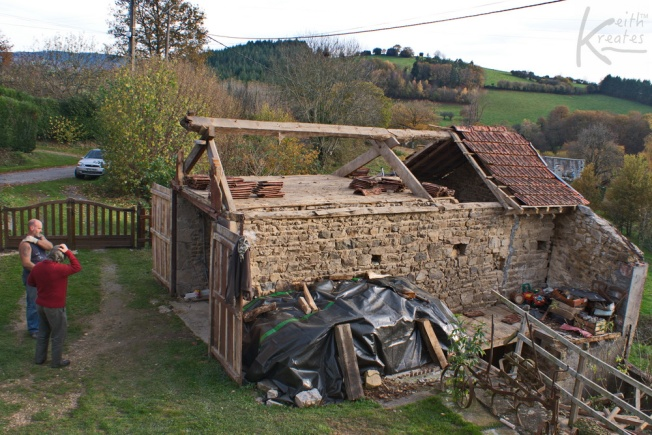 Garage sans roof